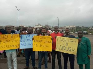 Protest In Osun Over Hike In Electricity Tariff And Petroleum Pump Price | GO247BLOG.COM