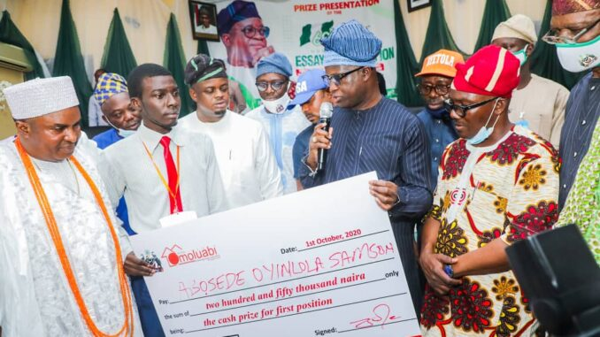 23-year-old OAU student Wins Laptop, Cash Prizes, Plot Of Land, Others In Osun  Essay Competition - AmiLoaded News