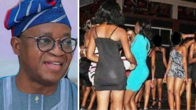 Drama As Osun Sex Workers Make Demand From Gov. Oyetola