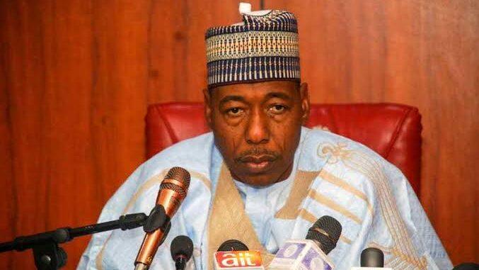 Borno Gov, Zulum Warns ENDSARS Protesters, Reveals How Boko Haram Started